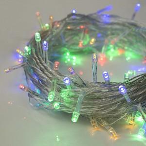 """Гирлянда """"Нить"""", 10 м, LED-100-220V, 8 режимов, свечение мульти - фото 1"""