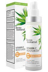 InstaNatural, Увлажняющий крем с витамином С, SPF 30, 50 мл