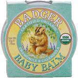 Badger Company, Детский бальзам, ромашка и календула, 0,75 унции (21 г)