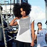 SportFX Reflective Slogan T Shirt Ladies