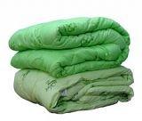 Одеяло «Бамбук Премиум»  - стеганное  холлофайбер+бамбук» , ткань чехла – тик; кант